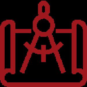 design & measurement icon