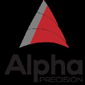 logo for alpha precision
