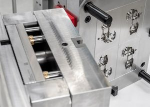 Close up of toolmaking mould