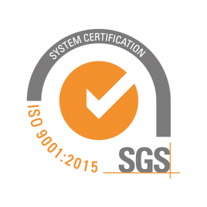 Quality control assurance ISO certificate