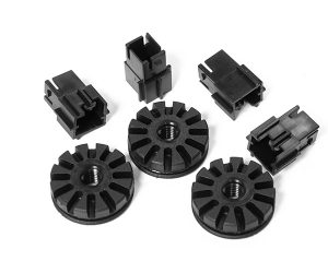 Durable plastic components