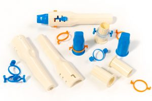 Our engineers work with a wide variety of materials such as plastics, rubber & metals